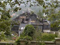 V bývalé Krejčířově vile hořelo. Podívejte se, jak vypadala před požárem a po něm