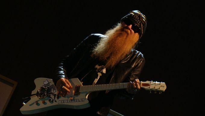 Billy Gibbons, frontman ZZ Top.