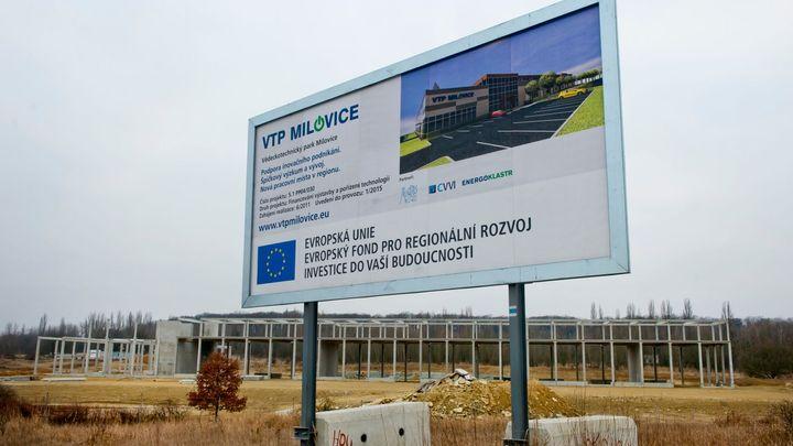 Výzkumný park v Milovicích přijde o dotaci, má zpoždění