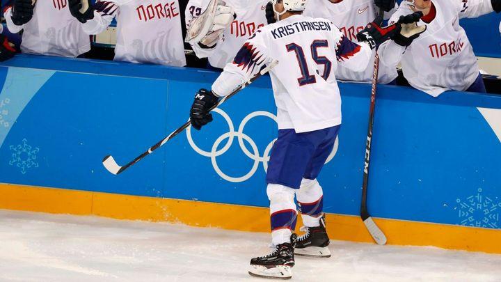 Norští hokejisté zdolali Slovince a jsou poprvé ve čtvrtfinále OH
