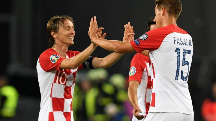 Anglie - Chorvatsko 0:0. Oba týmy hlásí ztráty v obranách, absentují Maguire a Lovren