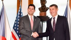 Paul Ryan a Andrej Babiš