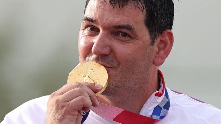 Střílet divočáky? Radši olympijské zlato. Liptákovi k úspěchu pomohl stříbrný kamarád; Zdroj foto: Reuters