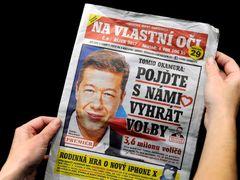 SPD election newspaper.