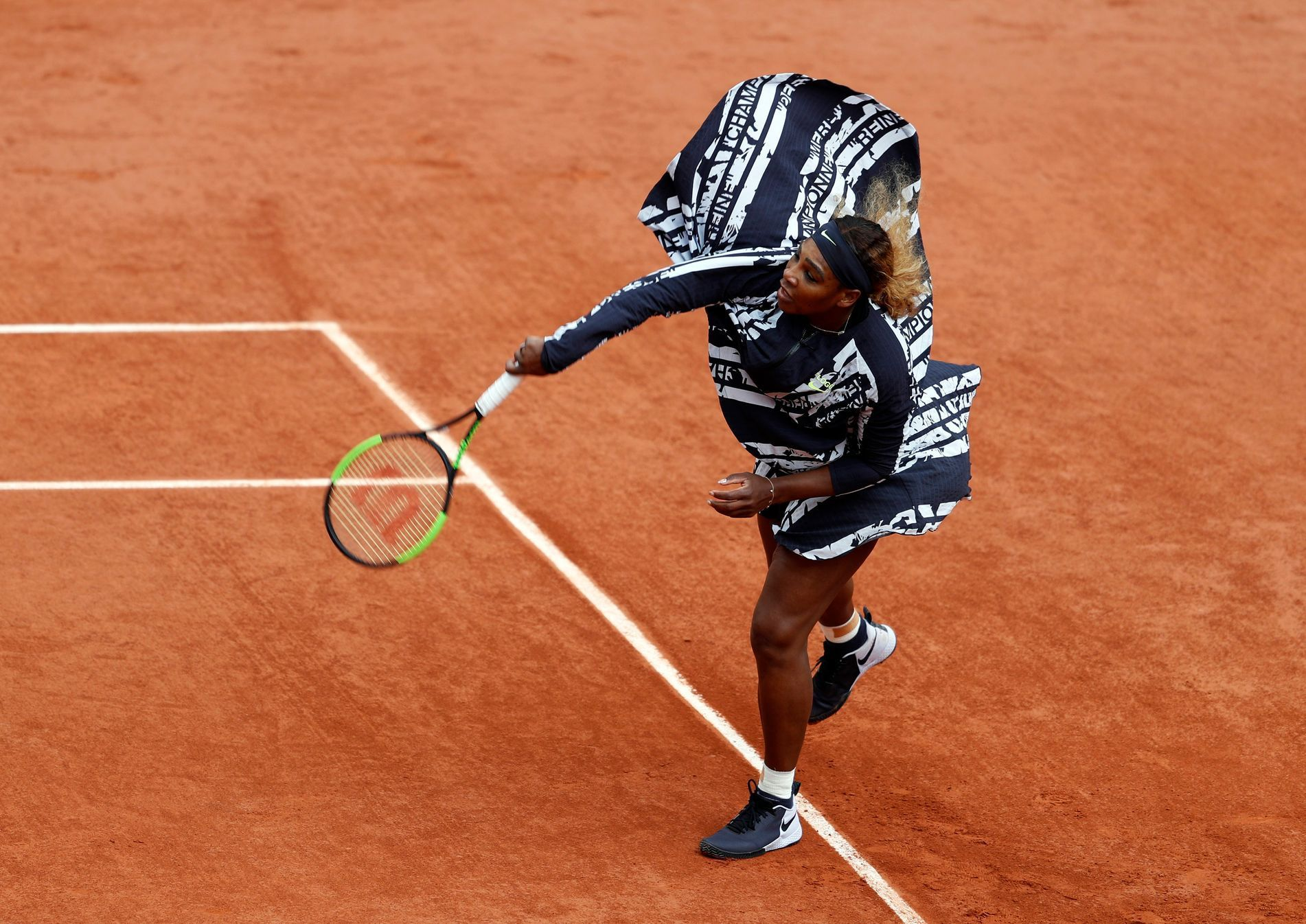 Móda na French Open 2019 (Serena Williamsová)