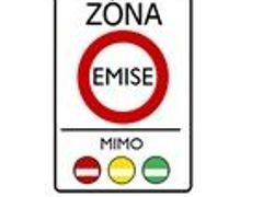 764556dfd Značka označuje oblast, zejména část obce, kde je omezen provoz vozidel,  která nesplňují