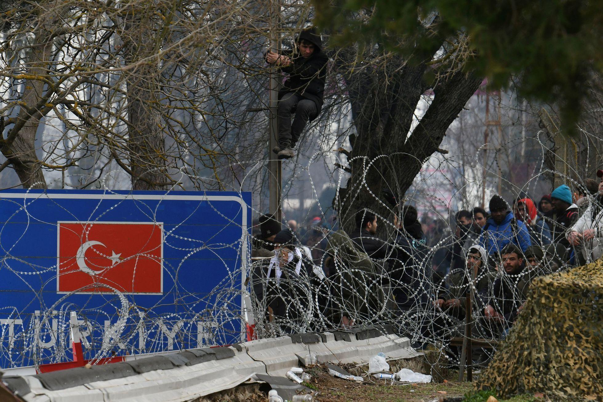 Image result for řecko turecká hranice