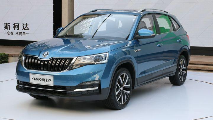 Škoda představila své třetí SUV. Kamiq cílí na mladé lidi, určen je však především Číně