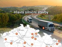 Mapa: Tady vzniknou nové dálnice. V novém roce začneme pořádně stavět, plánuje Ťok