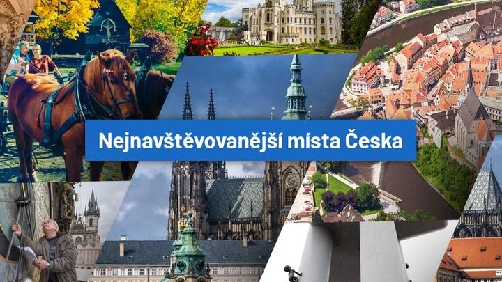 Nejnavštěvovanější turistické cíle Česka. Najděte si je dle oblasti, která vás zajímá
