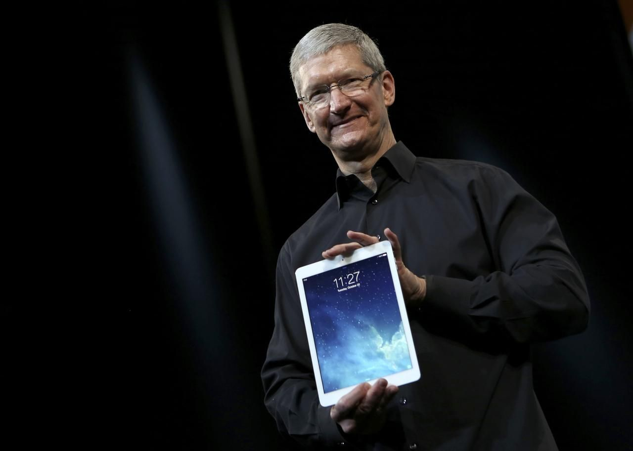 apple ipad air tim cook