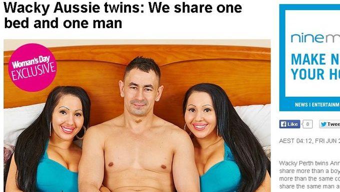 dvojčata z jednoho muže datování über 50