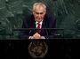 Zeman proměnil OSN ve žvanírnu. Mluvil ke svým voličům v Česku, ne ke světu