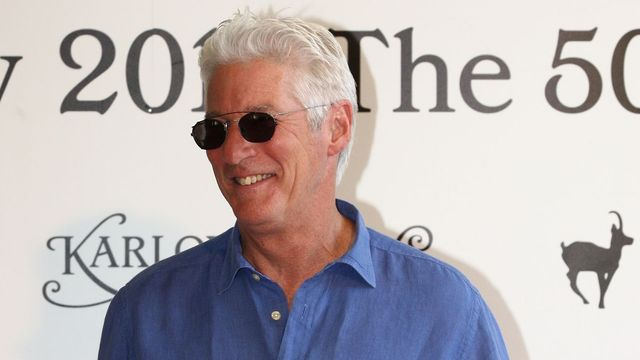 Richard Gere na MFF KV 2015
