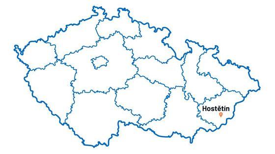 Hostětín je jihomoravská vesnice na úpatí Bílých Karpat ve Zlínském kraji.