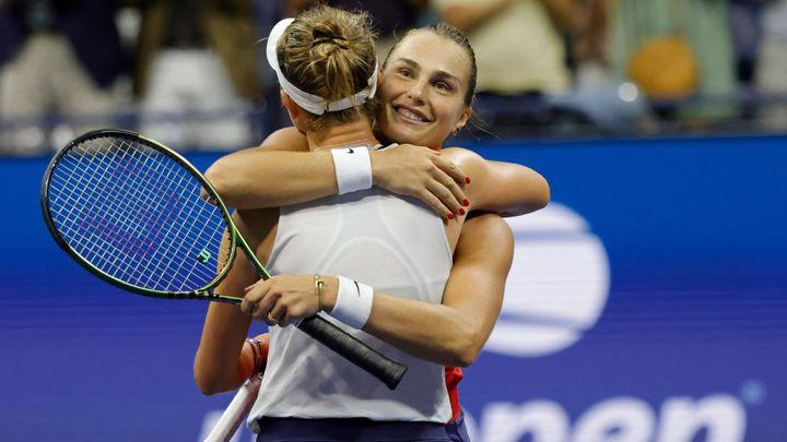 """Krejčíková ukázala, jak prohrát důstojně. US Open ovládly """"javorové listy""""; Zdroj foto: Reuters"""