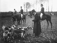 Obrazem: Tak vypadaly hony a lovy za císaře pána. Podívejte se na unikátní historické fotografie