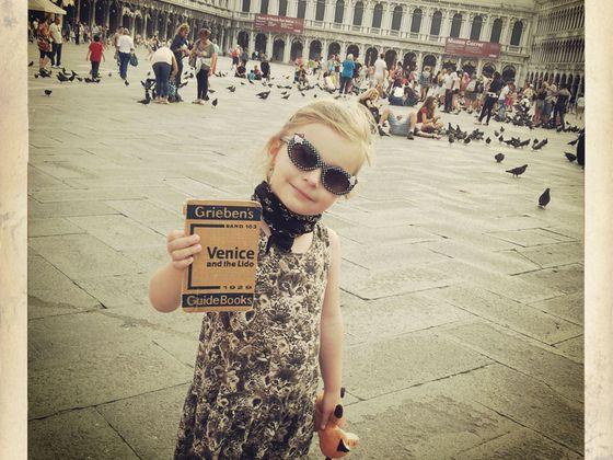 S dcerou v Benátkách.
