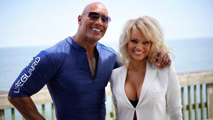 The Rock a Pamela Anderson