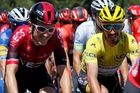 Tour de France 2019: Geraint Thomas (vlevo) a Julian Alaphilippe