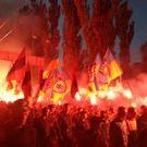 Nášivky nacistů ovládly Kyjev. Noví banderovci vycenili zuby