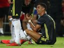 Video: Ronaldo zatahal soupeře za vlasy a viděl červenou, ze hřiště odcházel v slzách