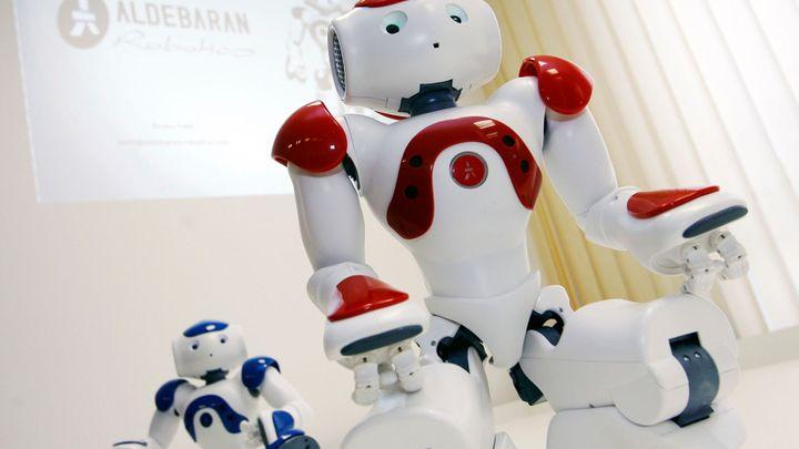 V bance obsluhuje robot. Zajistí výměnu peněz i nové konto