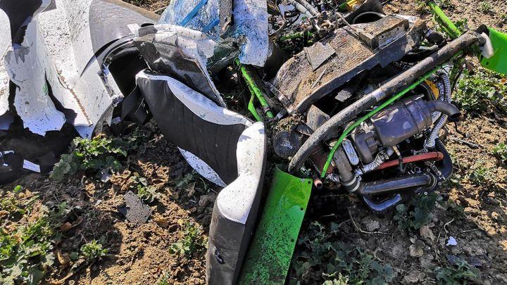 Při nehodě malého vrtulníku v Dobřichovicích u Prahy zemřeli dva lidé