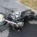 Motorkář se srazil v protisměru s autem, na místě zemřel