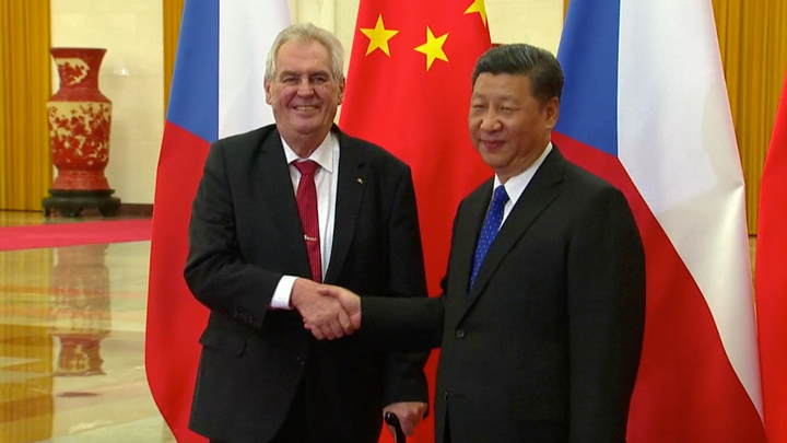 Velmi si vážím našeho osobního přátelství, napsal Zeman čínskému prezidentovi ke znovuzvolení