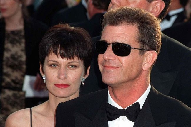 Mel Gibson a Robyn Moore Gibsonová