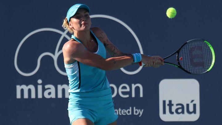 Martincová měla proti vítězce US Open dva setboly, nakonec ale v Miami končí