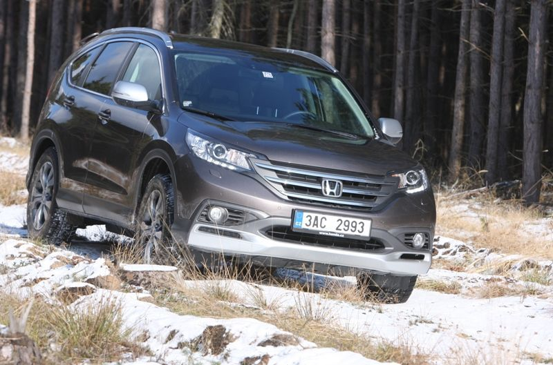 Test Honda CR-V 2013