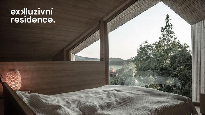 Tady budete chtít bydlet. Stavba v lůně přírody s krásným výhledem