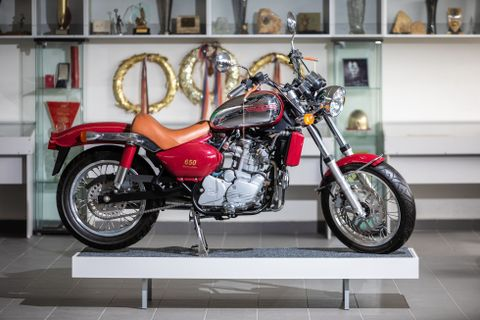 Jawa 650 Limited edition aukce/muzeum