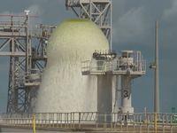 Třicetimetrová fontána na Floridě. NASA úspěšně otestovala chladicí systém raket
