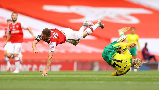 Arsenal nasměrovaly k vítězství dva góly Aubameyanga