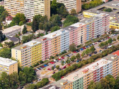 Foto: Praha, jak ji neznáte. Neobvyklá krása okrajových čtvrtí na 26 leteckých pohledech
