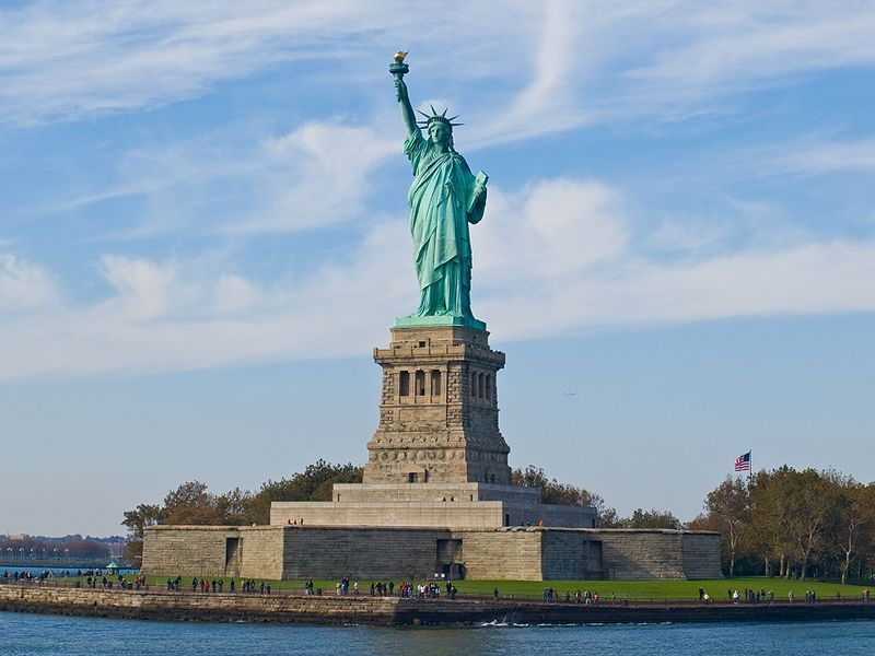 Výsledek obrázku pro new york socha svobody