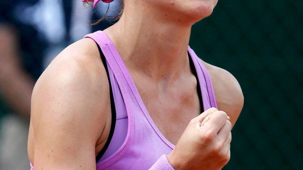 Lucie Šafářová na French Open 2015