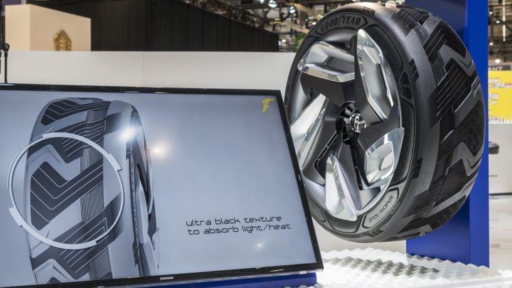 Goodyear vymýšlí pneumatiky, které umí vyrobit elektřinu