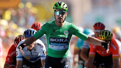 Cycling - Tour de France - The 175.5-km Stage 5 from Saint-Die-des-Vosges to Colmar - July 10, 2019 - BORA-Hansgrohe rider Peter Sagan of Slovakia wins the stage. REUTERS