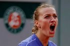 Tennis - French Open - Roland Garros, Paris, France - October 8, 2020 Czech Republic's Petra Kvitova during her semi final match against Sofia Kenin of the U.S. REUTERS/C