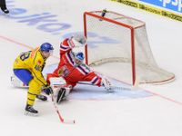 Živě: Česko - Švédsko 1:1 po druhé třetině. Národní tým drží vyrovnaný stav i přes tlak soupeře