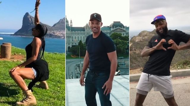 #InMyFeelingsChallenge Will Smith, Ciara, Odell Beckham Jr.