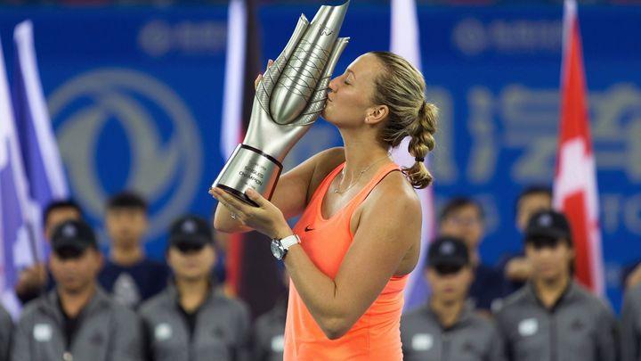 Skvělá Kvitová povolila ve finále Cibulkové jen dva gemy. Kristýna Plíšková vyhrála v Taškentu