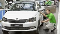 Ten factories produced one million Skoda cars