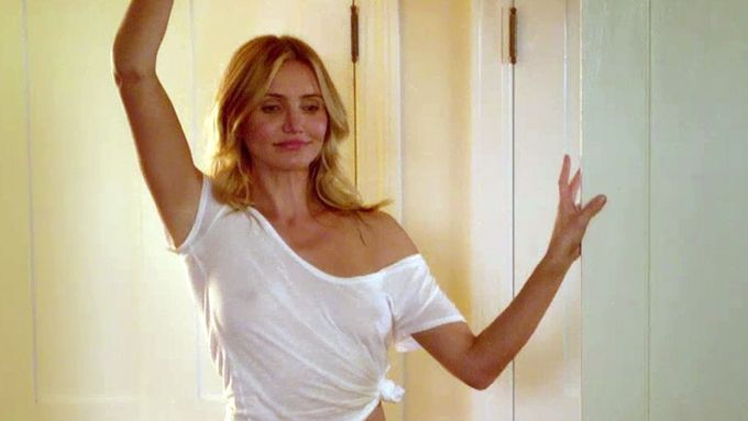 Cameron Diaz ve filmu Sex Tape.