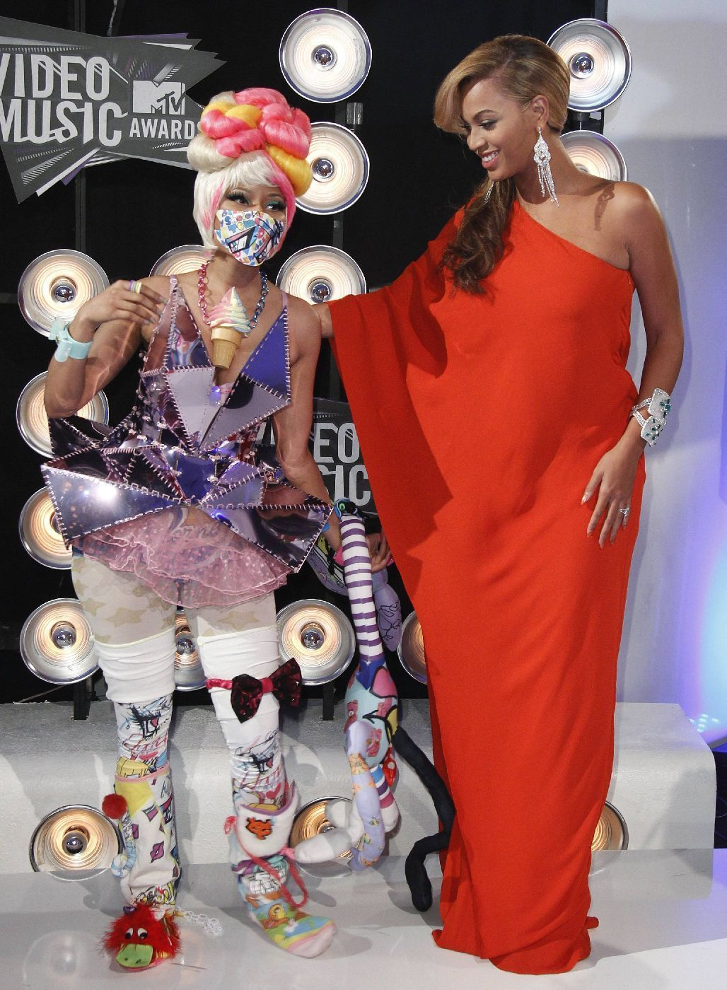 MTV Video Music Awards - Nicki Minaj a Beyonce