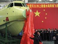 Číňané vyrobili největší obojživelné letadlo na světě